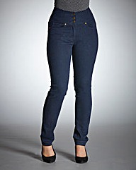 BESPOKEWaist Smooth Slim Leg Jeans Short