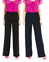 Pack of 2 Trousers Regular