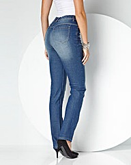 MAGISCULPT Boost Your Bum Jeans Short