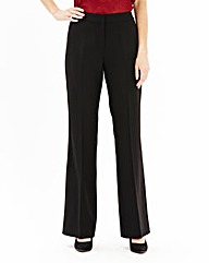 Basic Bootcut Trousers Length long
