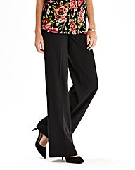 Basic Wide Leg Trousers Reg
