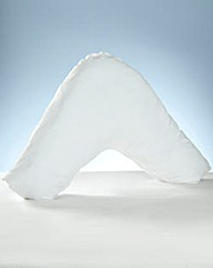 Pair of V Shape Pillow Pillowcases