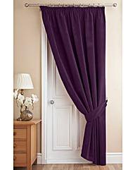 Thermal Velour Door Curtain