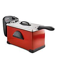 Elgento Pro Fryer Red