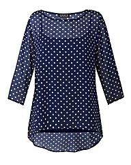 Made in Britain chiffon tunic