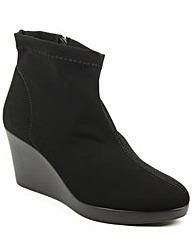 Daniel Rosetta Black Wedge Ankle Boot