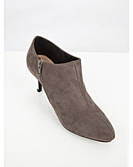 Lovedrobe Contrast Heel Ankle Boots