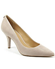 Michael Kors Grey Suede Pump