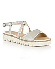 Dolcis Wren platform ankle strap sandals