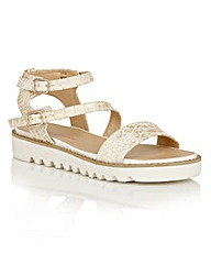 Dolcis Wonder platform strappy sandals