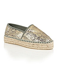 Dolcis Belva espadrille slip on shoes