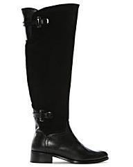 Daniel Saskia Black Over Knee Boot