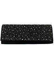 Diamante Encrusted Clutch Bag