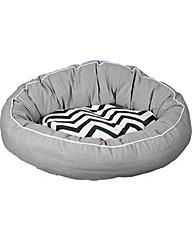Snoooz Extra Large Donut Orthopedic Bed