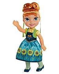 My First Frozen Fever Toddler Anna Doll