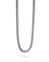 Fred Bennett Flat Steel Necklace