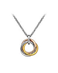 Hot Diamonds Trio Ring Pendant