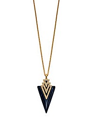 Fiorelli Costume Deco Style Necklace