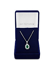 Jon Richard Cubic Zirconia Necklace