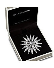 Jon Richard Crystal Spike Effect Brooch
