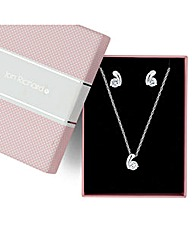 Jon Richard Curve Cubic Zirconia Set