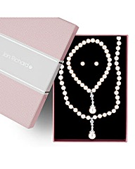 Jon Richard Crystal and Pearl Trio Set