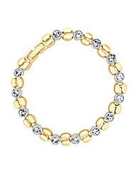 Jon Richard Crystal Link Bracelet