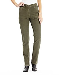 Coloured Slim Leg Jeans Reg