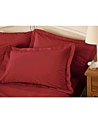 Plain Dyed Percale Oxford Pillowcases