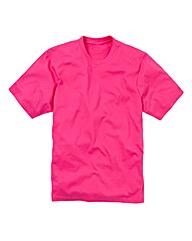 Jacamo Pink Basic Crew T-Shirt Reg