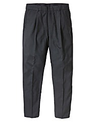 Jacamo Pinstripe Pleat Trouser 33In