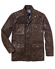 Freddie Flintoff Suede Jacket