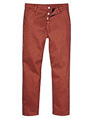 Jacamo Stretch Rust Chinos 33 Inch