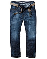 UNION BLUES Jeans With Webbed Belt L