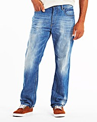 UNION BLUES Jeans With Webbed Belt S