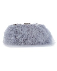 Marabou Feather Across Body Bag