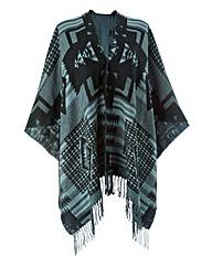 Aztec Print Blanket Wrap