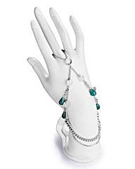 Silver Boho Hand Harness