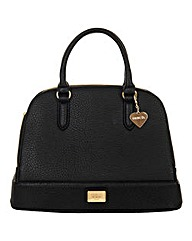 Marc B Lulu Black Structured Tote Bag