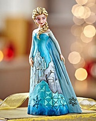Princess Dress Scence Elsa Figurine