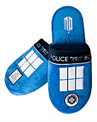 Dr Who Tardis Slippers
