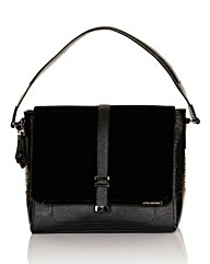 Little Mistress Large Black Shoulder Bag