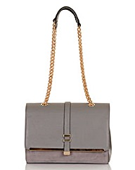 Little Mistress Grey Medium Shoulder Bag