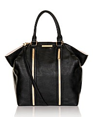 Little Mistress Large Black Hobo Bag