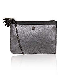 Little Mistress Black Clutch Bag