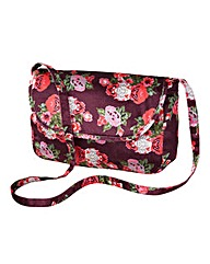 Joe Browns Vintage Velvet Floral Bag