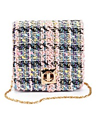 Tweed Mini Structured Shoulder Bag