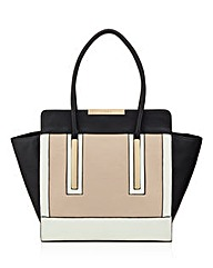 Lipsy Double Plated Wing Tote