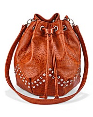 Studded Duffle Bag