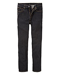 Union Blues Black Stonewash Jeans 33in